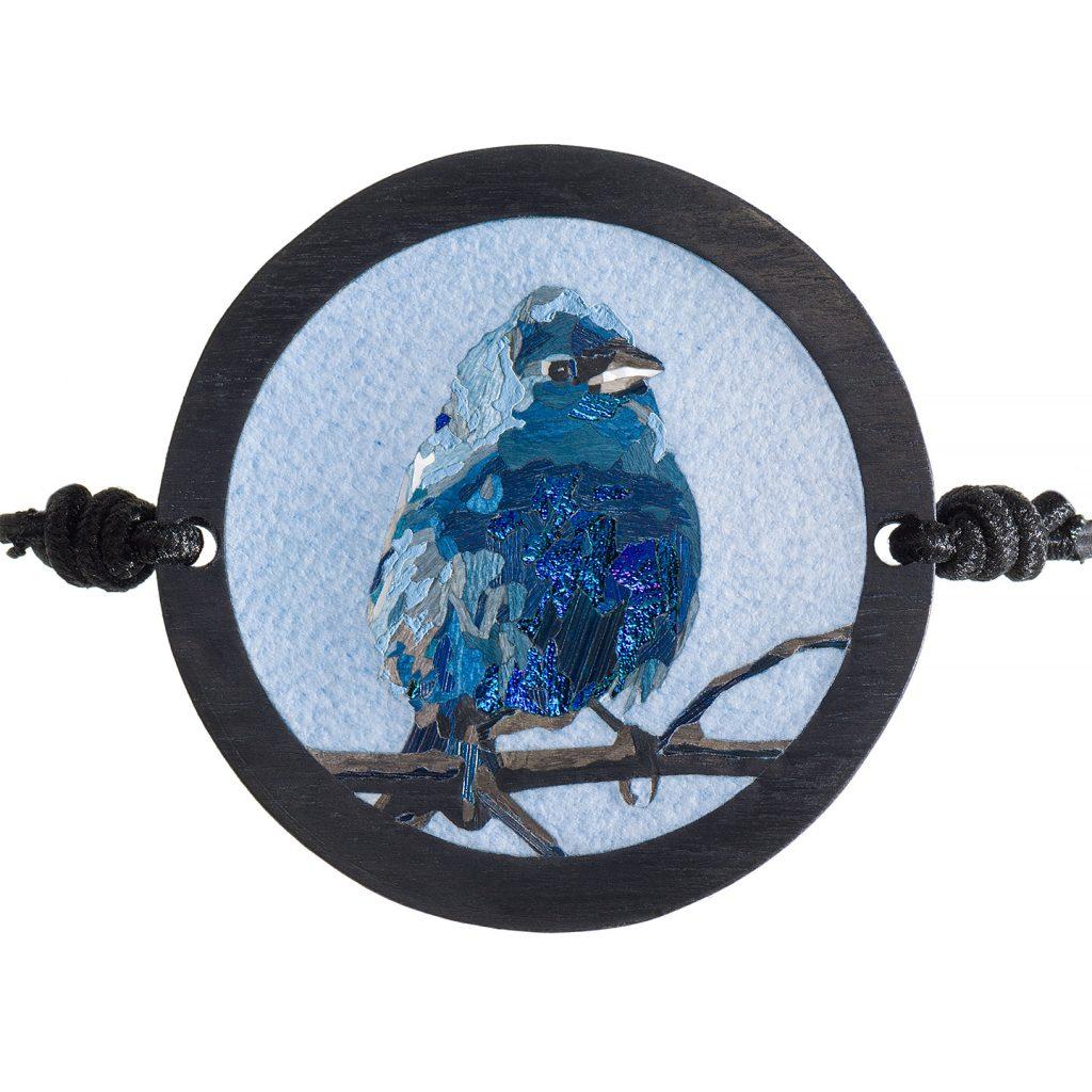 Création L'oiseau bleu