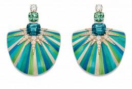 Boucles d'oreilles Aurore Boréale - Piaget