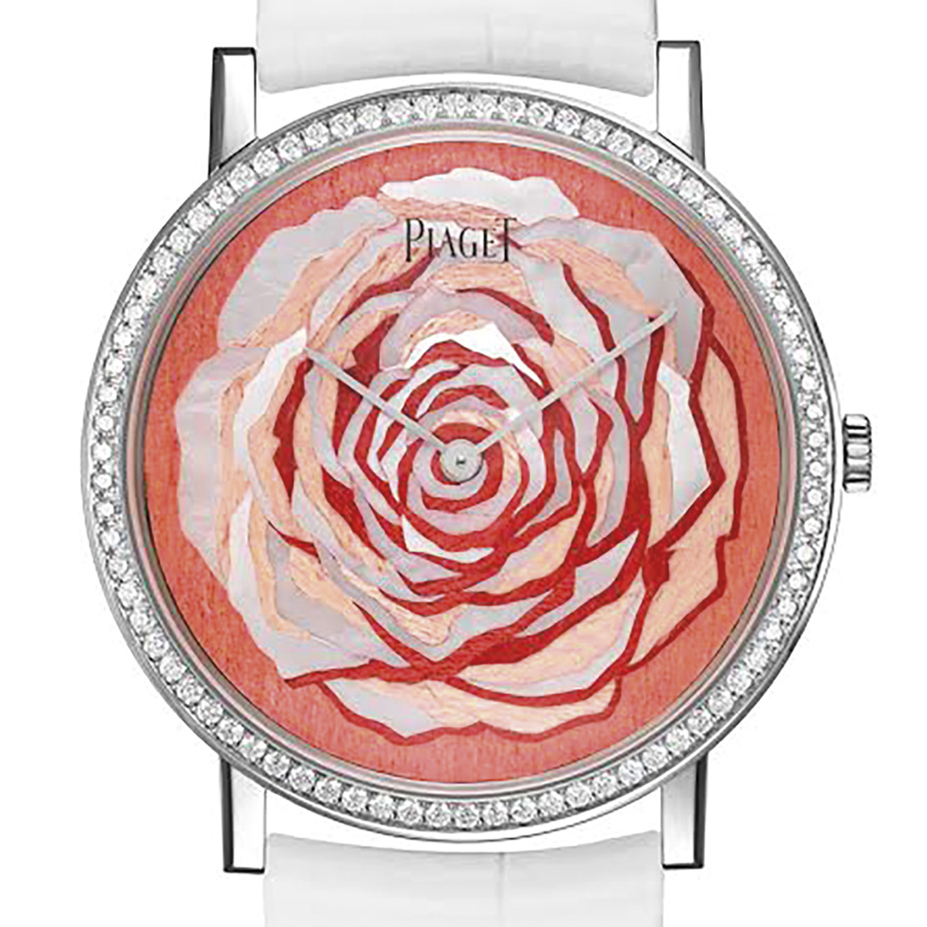Piaget Altiplano Rose watch dial