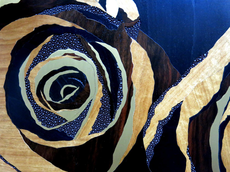 Roses, détail 2